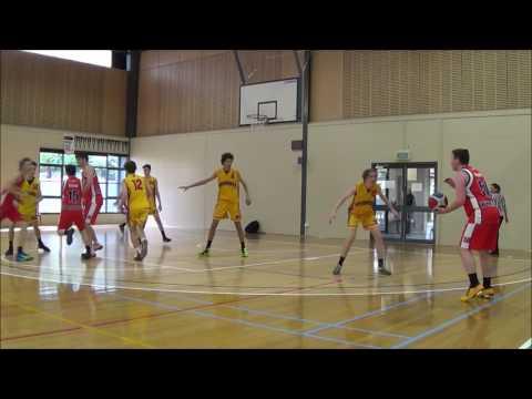 Matthew Collins #20 Ballarat tournament   Geelong Supercats vs Werribee Devils 2 2015