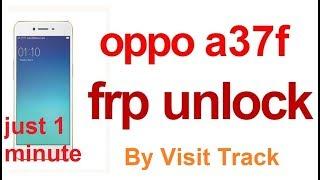 OPPO A37F FRP UNLOCK