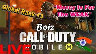 Call of duty Mobile Battle Royale Global Top Player