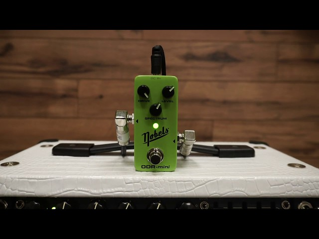 Nobels ODR-Mini Green Natural Overdrive Demo