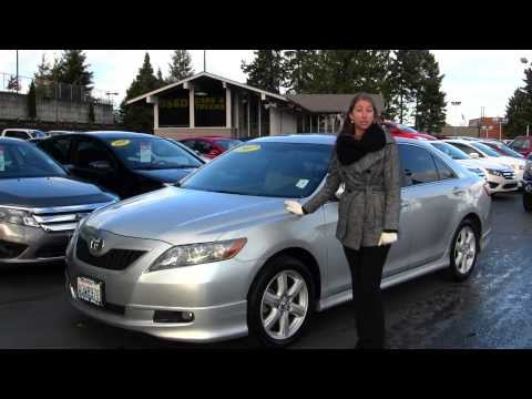 Virtual Walk Around Tour of a 2007 Toyota Camry SE at Titus Will Ford in Tacoma, WA x7425a