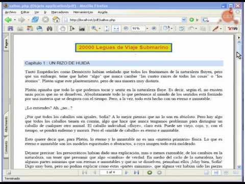 C mo crear archivos PDF con PHP. Programaci n en Castellano