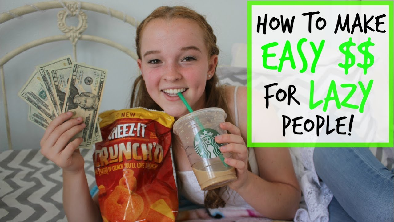 How to Make EASY Money for LAZY People! - YouTube