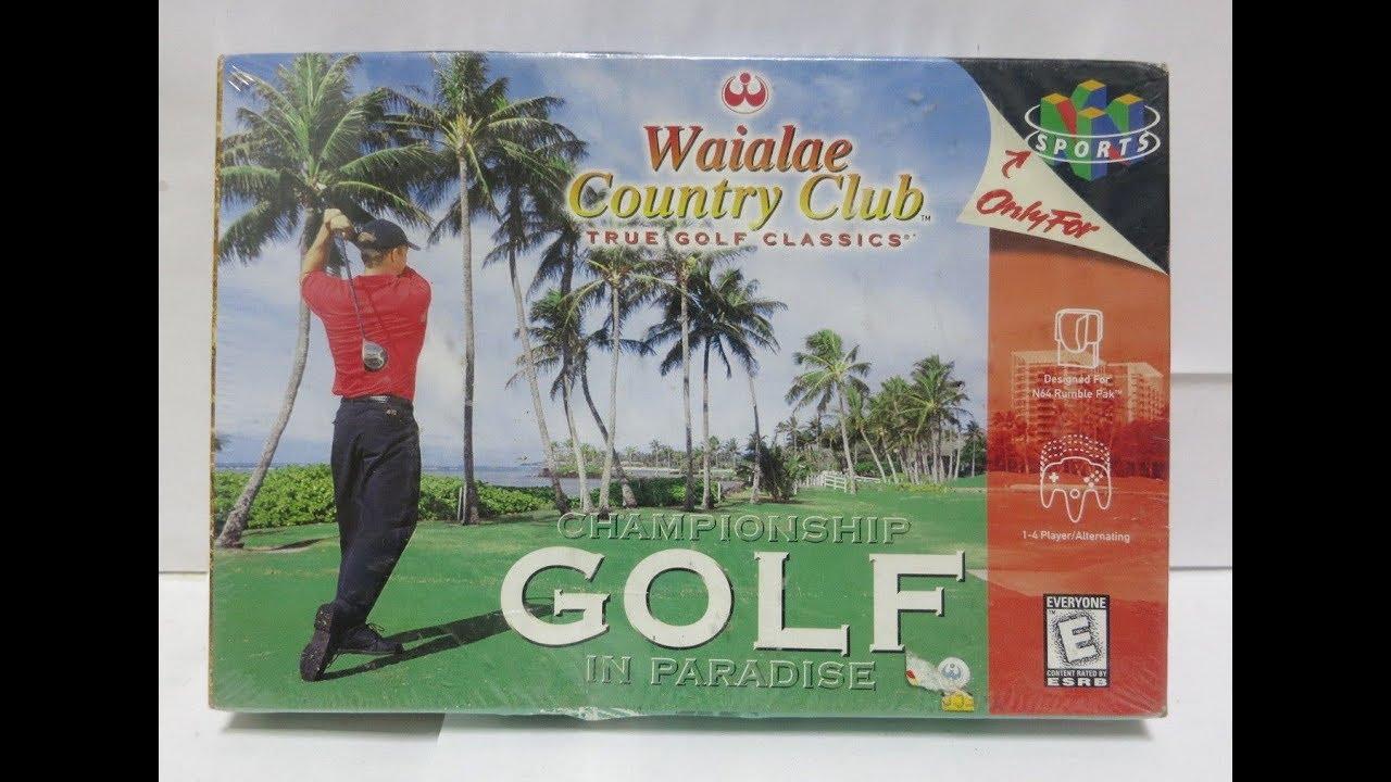 waialae country club n64