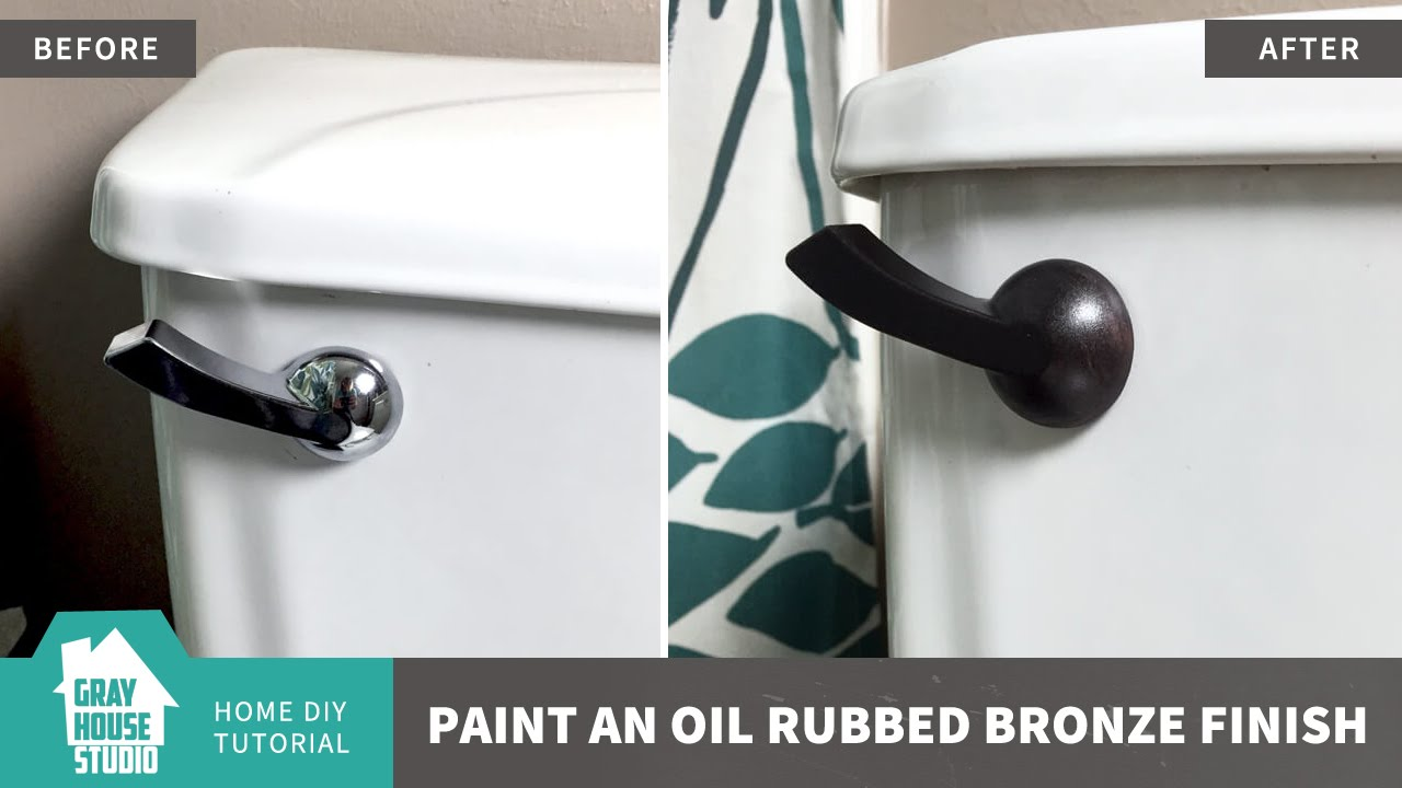 Paint An Oil Rubbed Bronze Finish