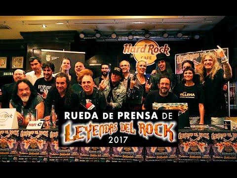 Rueda de prensa de Leyendas del Rock 2017