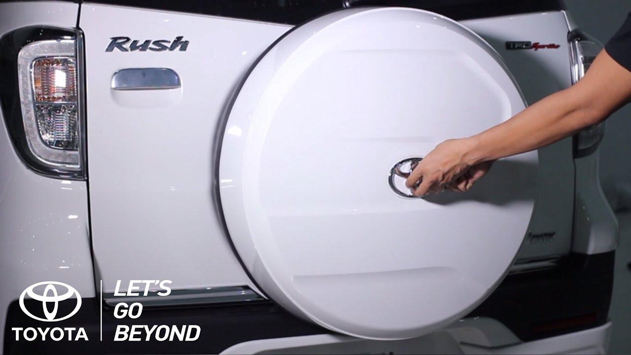 Cover Ban Serep Grand New Avanza All Camry 2018 Interior Toyota Rush Cara Ganti Youtube