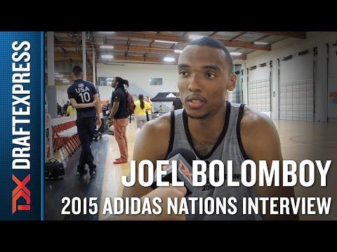 Joel Bolomboy 2015 Adidas Nations Interview