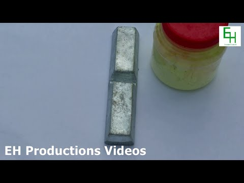 How to Make (Fine) Zinc Powder and Zinc Sulfide | HD