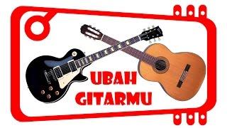 Cara Gitar Biasa Jadi Gitar Listrik