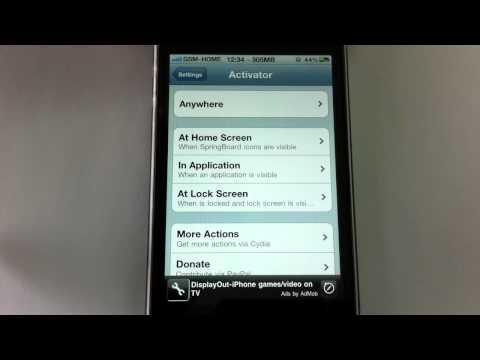 Hướng dẫn cách biến iPhone 4 thành đèn pin - iPhone.gsm.vn