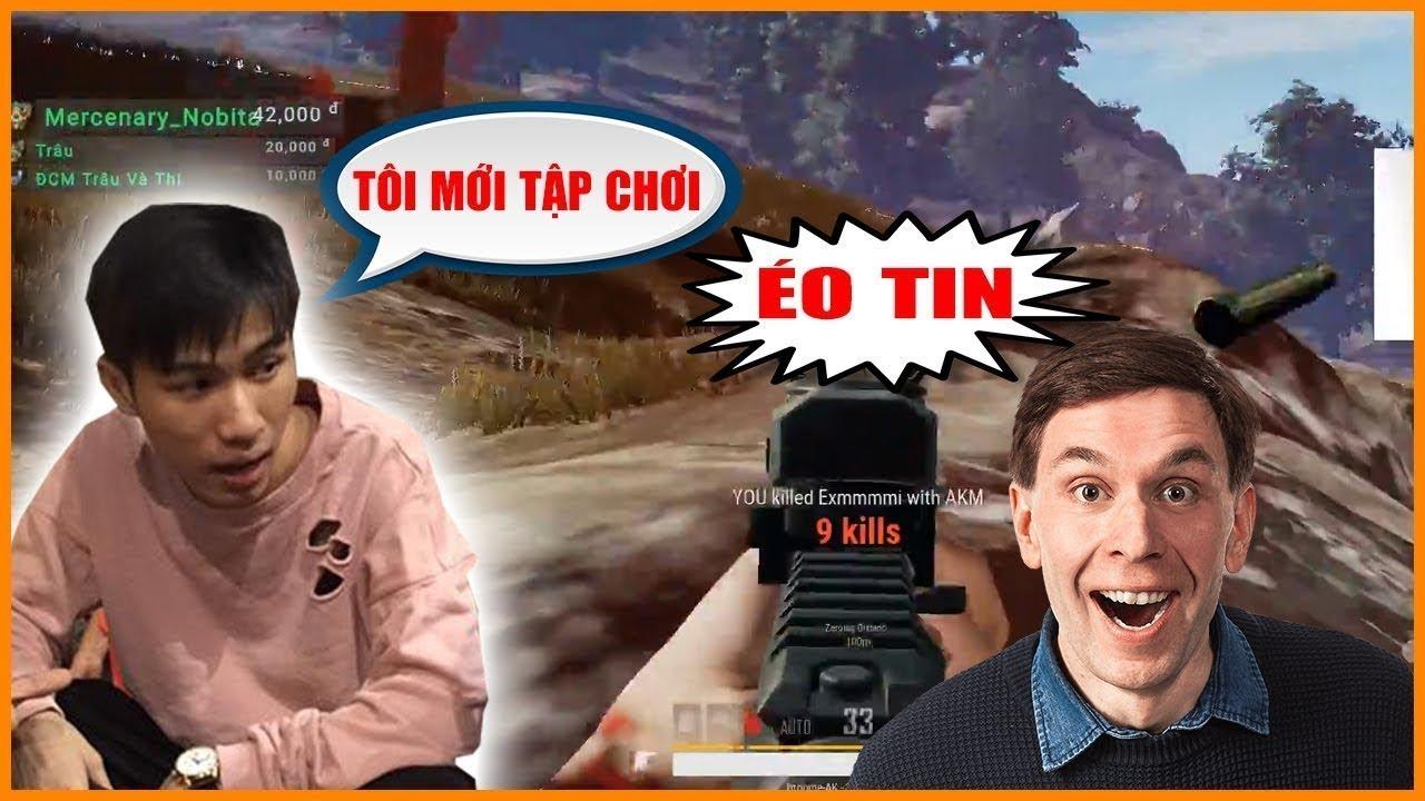 Trà Trộn Cộng Đồng Thể Hiện AKM Giảm Thanh   LongK PUBG
