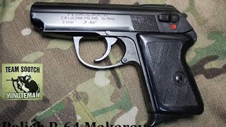 P-64 Polish 9x18 Makarov Pistol Review
