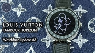 Louis Vuitton Tambour Horizon Smartwatch Watchface Update (Fall 2018)