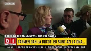 STIRI B1TV Carmen Dan plângere la DIICOT pentru șantaj împotriva lui Romică Părpălea mortul lui