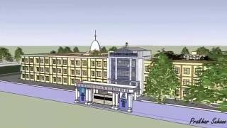 St.Xavier's sr.sec. Co-ed school , Bhopal- 3D model, school tour