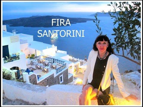 Fira, Santorini (Greece): Exploring the town!
