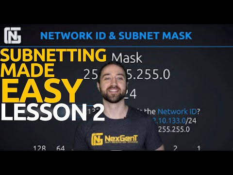 IPv4 Addressing Lesson 2: Network IDs and Subnet Masks