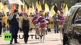 Russia: Nationalist March Wants Moscow For 'genuine' Russians