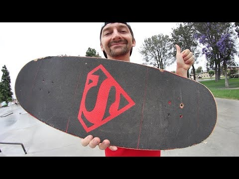 THE WORLD'S LARGEST SKATEBOARD?!?!?! | YOU MAKE IT WE SKATE IT EPISODE 204