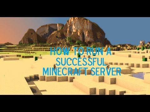 How To Run Successful Minecraft Server