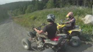 Yamaha Banshee ride, GoPro HD