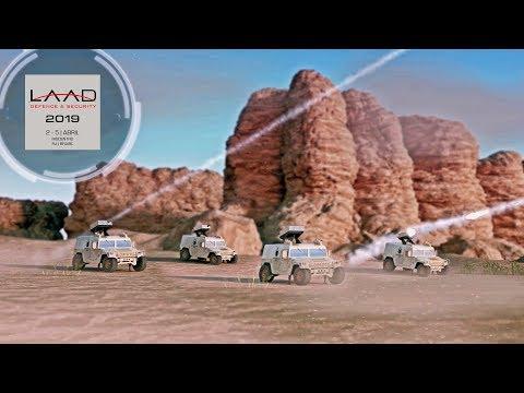 Armadillo TA-2 E Bomba MK.84 Guiada Por GPS: Mac Jee Na LAAD 2019
