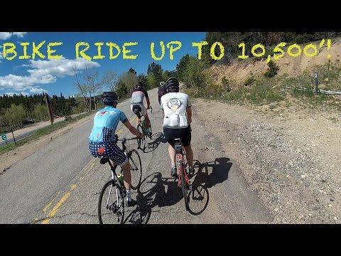 A BIKE RIDE FROM BOULDER TO BRAINARD LAKE: COLORADO CYCLING