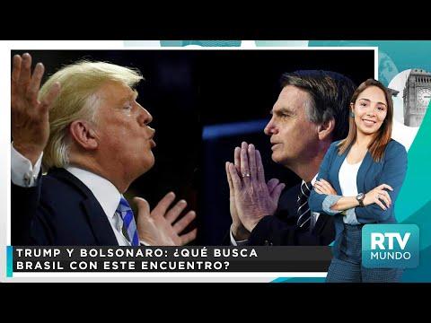 Reunión de Trump y Bolsonaro: ¿Qué busca Brasil con este encuentro?   RTV Mundo