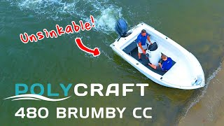 Polycraft 480 Brumby CC + Yamaha F75hp boat review | Brisbane Yamaha