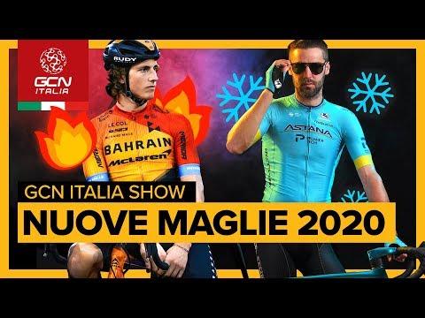 Le nuove maglie delle squadre World Tour | GCN Italia Show 55