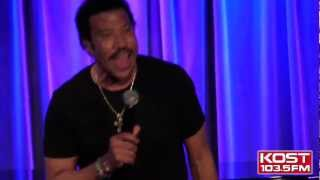 "KOST 103.5: Lionel Richie ""Penny Lover"" Live"