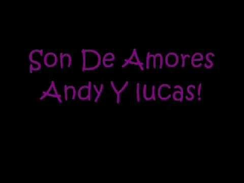 ANDY & LUCAS - SON DE AMORES LYRICS