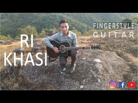 M. Amebari Nongsiej - Ri Khasi Ri Khasi |Fingerstyle Guitar Cover|
