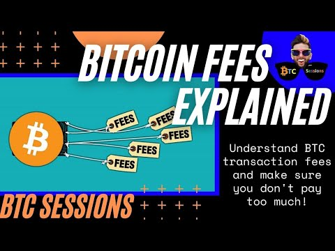 BITCOIN TRANSACTION FEES: How To Save Your Money!