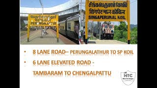 #8lane Road | #perungalathur to #SPKoil | #Chennaielevated road | 8 lane road #tindivanam