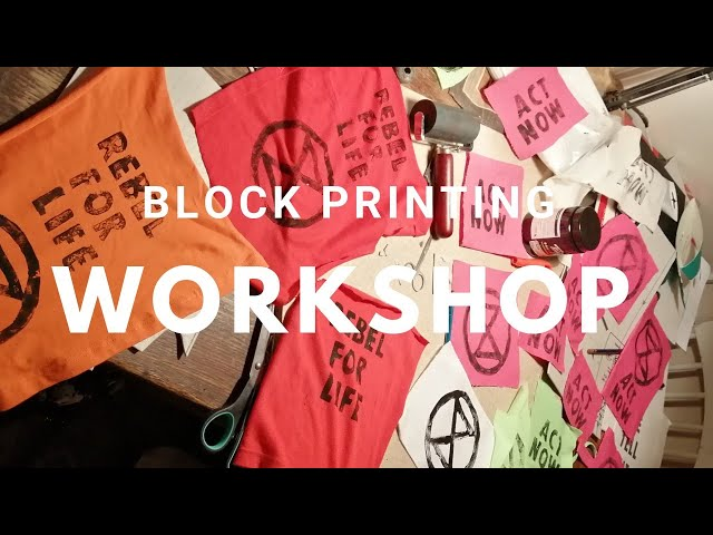 Block Printing Work Shop