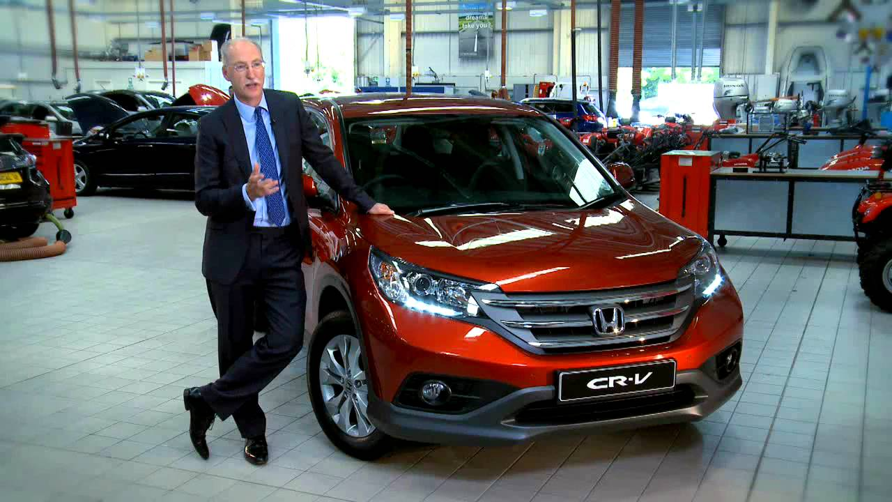 honda uk md dave hodgetts introduces   honda cr  youtube