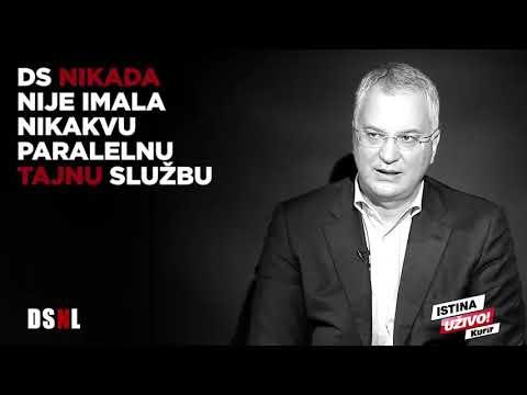 Dragan Šutanovac u emisiji, Da se ne lažemo, 01.12.2017.