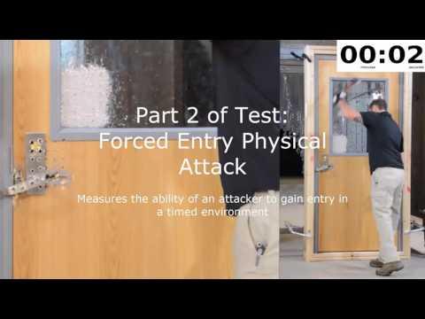 Attack Resistant Door Opening