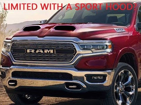 New 2020 Ram 1500 Limited Black Appearance Package + Night Edition Ram Heavy Duty!