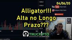 Análise Bitcoin - BTC - 04/06/2020 - Alligator!!! Alta no Longo Prazo???