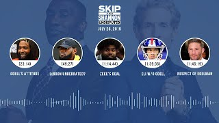 UNDISPUTED Audio Podcast (7.26.19) with Skip Bayless, Shannon Sharpe & Jenny Taft | UNDISPUTED