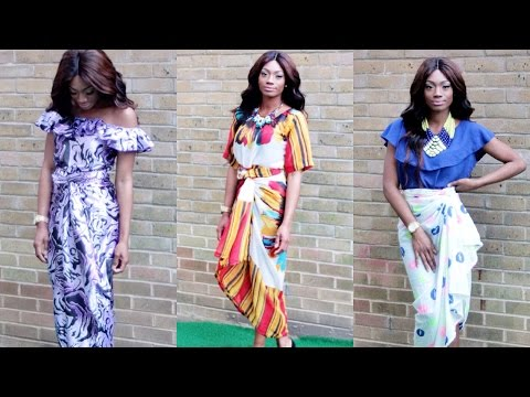 OLEKU Iro & Buba (TULIP WRAP Style) TYTHICOLLECTIONS LOOKBOOK