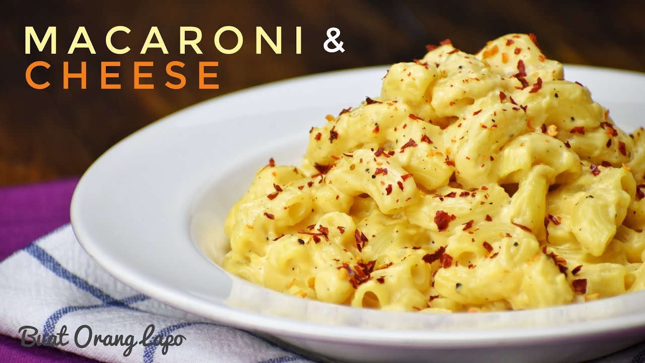 Macaroni Cheese Keju Makaroni Youtube
