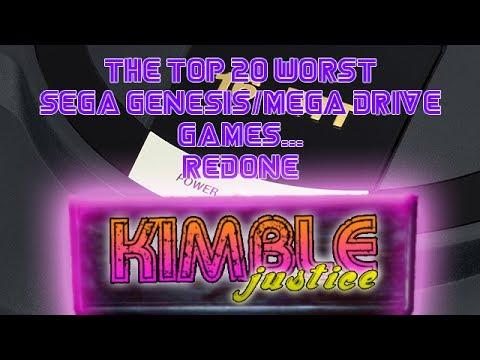 Top 20 Worst Sega Genesis Games - Kimble Justice