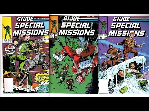 G.I. Joe: Special Missions #1 - 7 (Marvel Comics 1986 - 1989