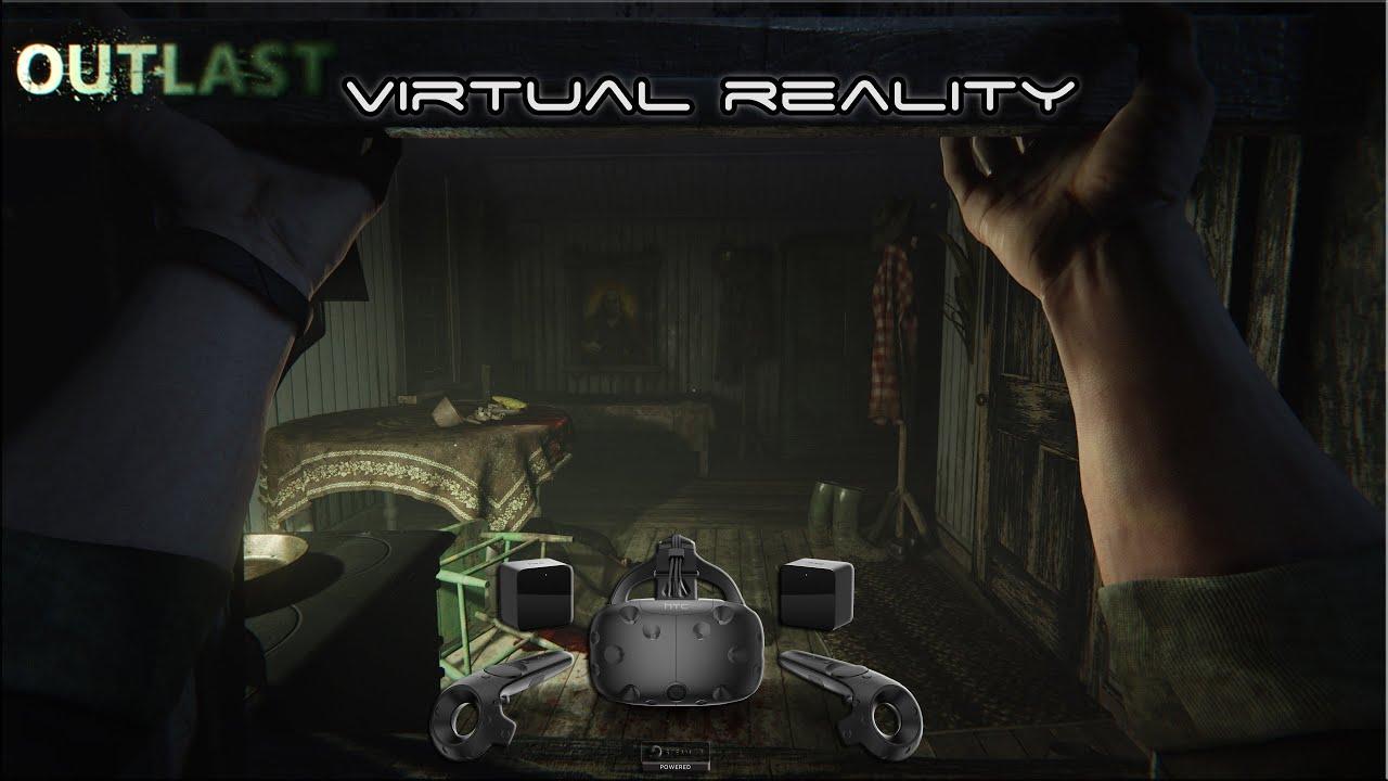 Outlast - HTC VIVE Virtual Reality ▶️ GTX 980 Ti & i7 5820K