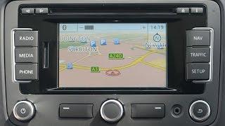 VW RNS-315 Navigation System