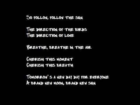 Follow The Sun - Xavier Rudd (Lyrics)